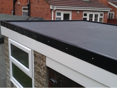 firestone rubber cover roofing in telford