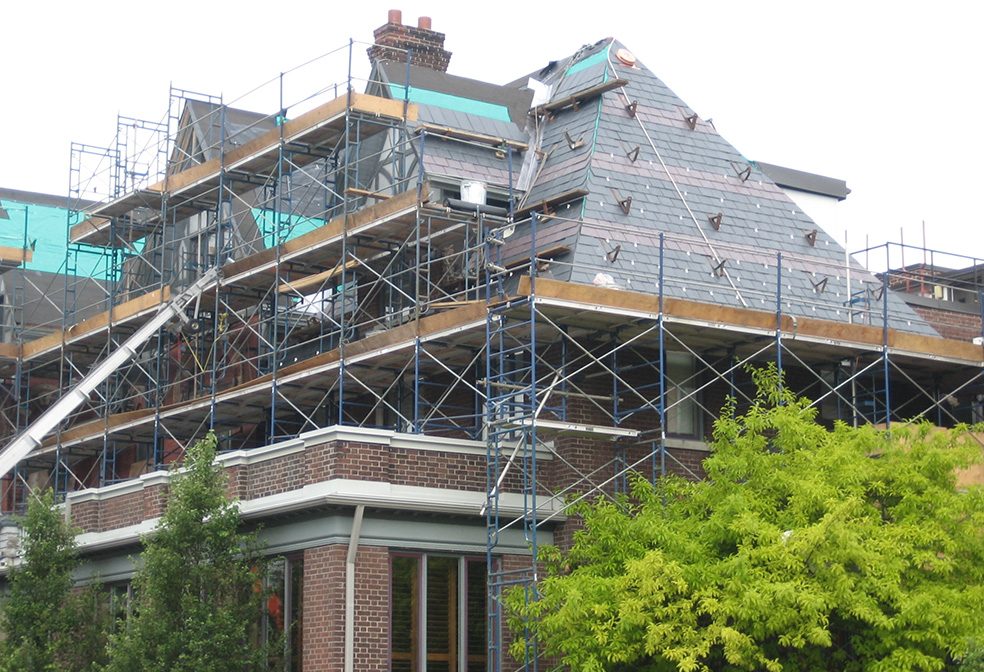 our slate roofing services in telford cover repairs and new installations