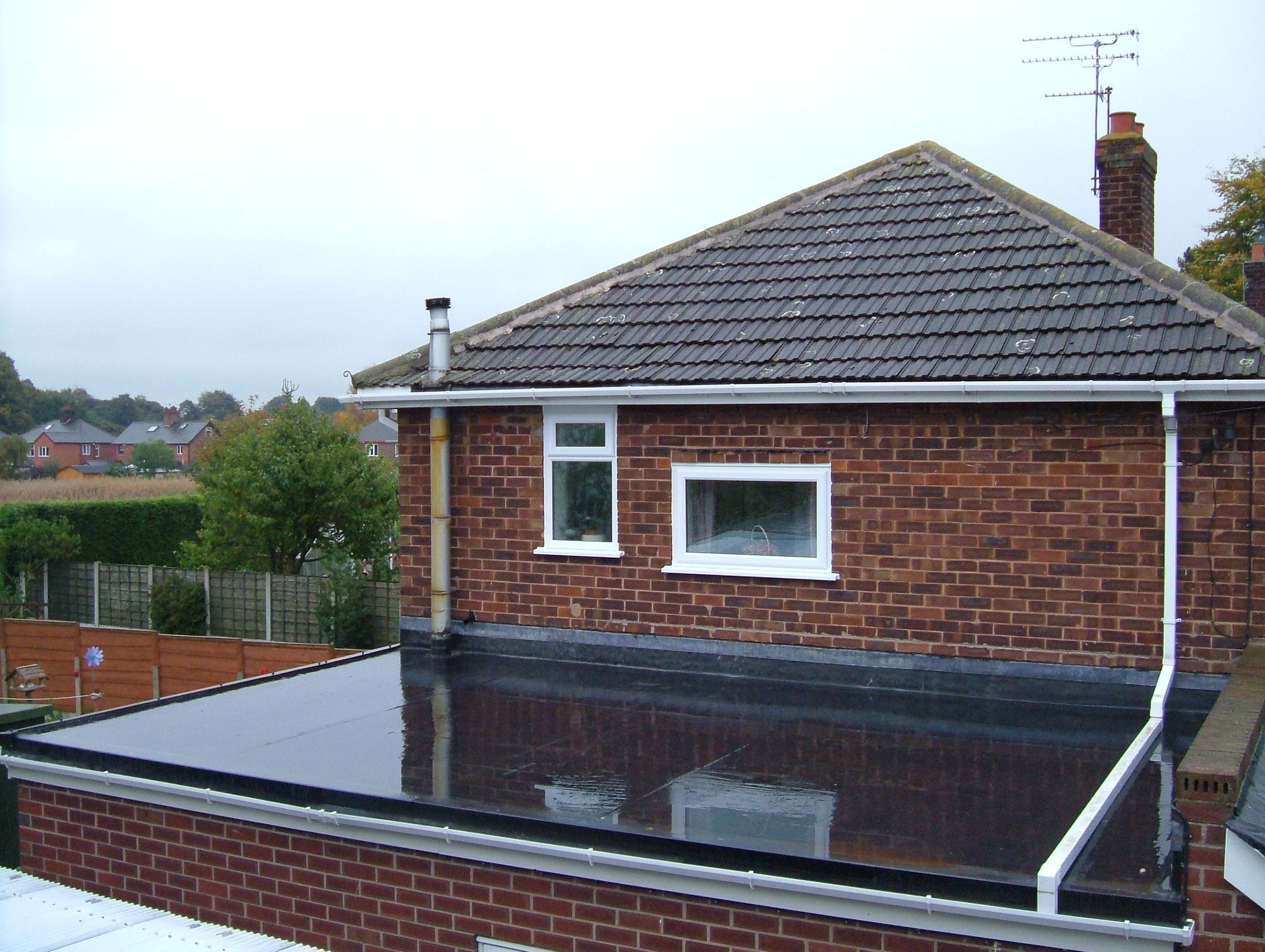 firestone epdm rubber roofing services in telford