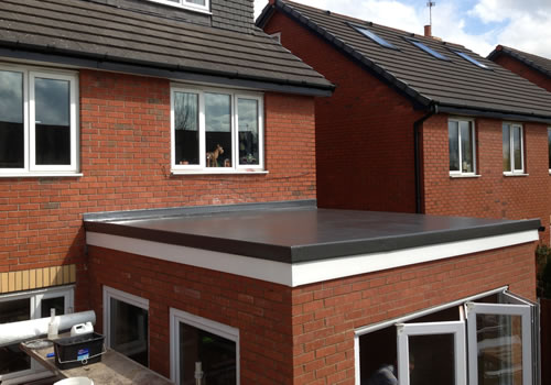 a trusted services for fibreglass flat roofing in telford