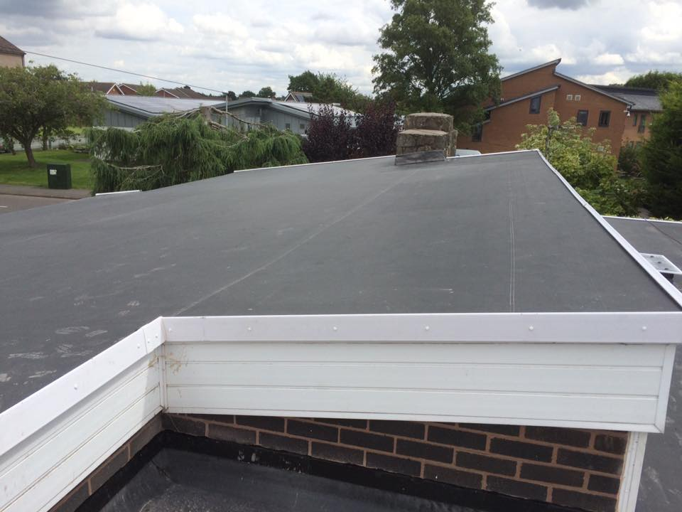flat roofing installations in Whitchurch