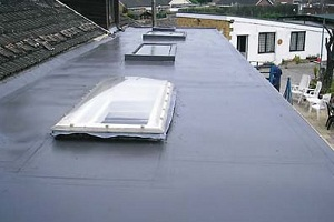 grp fibreglass roofing in shrewsbury