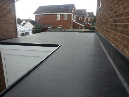 trusted for the installation of rubber roofing in shrewsbury
